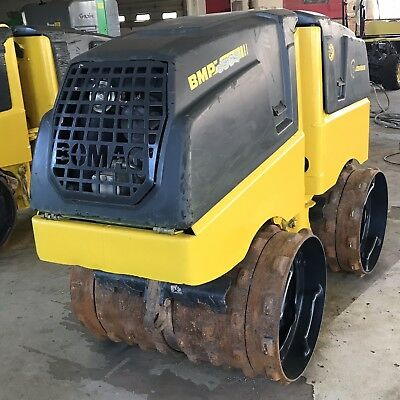 *2013*  BOMAG BMP 8500 TRENCH ROLLER, VIBRATORY COMPACTOR double padfoot