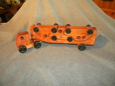 Wooden Toy Puzzle 3Car Carrier Christmas Item
