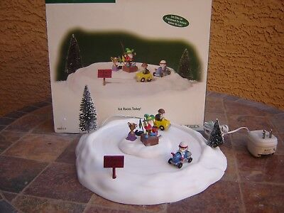 Department 56 Ice Races Today North Pole Series 56.57217 Heritage Village