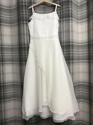 Tigerlily Girls White Party Dress Age 12 Years Bridesmaid Flower Girl