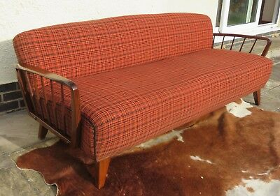 Original Vintage Mid Century East German Sofa C1965