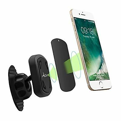 2 Pack Strong Magnetic Dash Mount for Phones and Devices. 360º Rotation. Compact