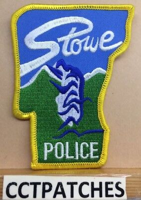 Stowe, Vermont Police Shoulder Patch Vt