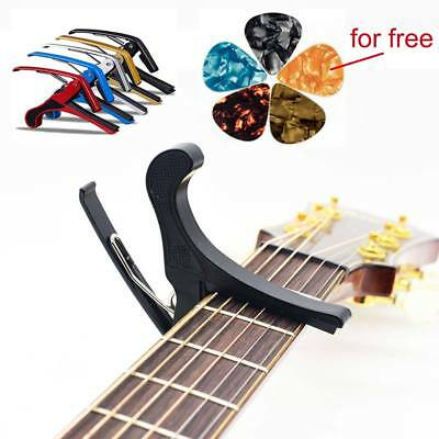 UK Guitar Capo Clamp Professional Trigger Tuner Acoustic Electric Guitar Ukelele