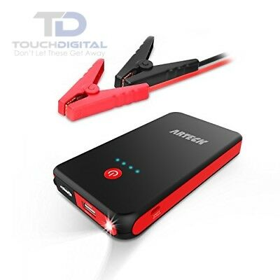 Arteck Car Jump Starter Auto Battery Charger and 8000mAh External Battery Charge