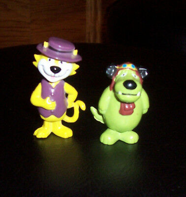 Vintage 1990s Top Cat and Muttley PVC Figure - Wacky Races HANNA BARBERA