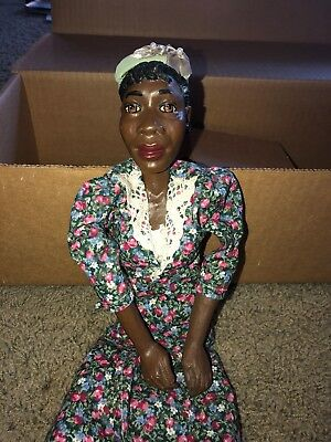 """1994 Daddy's Long Legs Maxine Doll  African Americana With Box And Coa 18"""""""