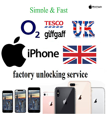 O2 Unlocking service Factory Unlock iPhone 11 XS XR X 8 8 Plus 7 6s SE 6 5s 5c 5