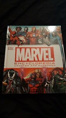 Marvel Encyclopedia: The Definitive Guide to Marvel Characters 2014 Hardback