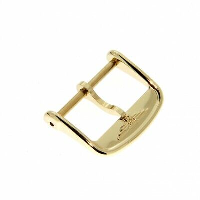 Longines Fibbia ardiglione acciaio PVD Yellow Gold plated steel pin buckle   16m