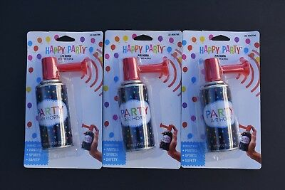 3 Super Load Air horn-Portable-handheld-Security-Party-Sports Events-Dog Fight