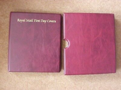 Royal Mail FDC album with slipcase - excellent condition - rf473