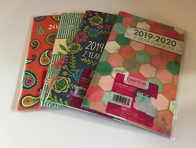 2019-2020 Two-year Monthly Planner Calendar Book - Choose Yours! 5 x 8""