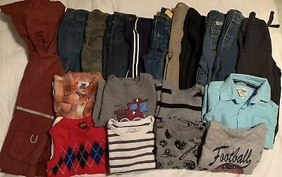 Toddler Boys Size 18-24 Months Winter/Fall Clothing Lot 20 of Name Brands