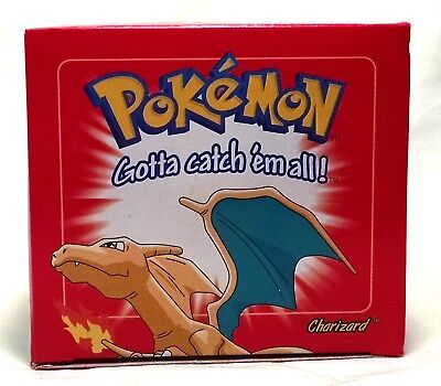 1999 Factory Sealed Pokemon 23k Gold Plated Burger King Charizard Card & Ball