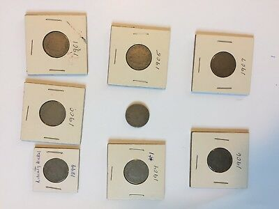 Lot of Liberty Head Nickels - 17 in all - dates range from 1899 to 1912