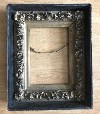 """Antique Vintage  Wood Picture Art Frame Weighs 8 Pounds 16.5x20.5x4"""" Multi Layer"""