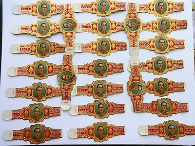 WHOLESALE: 1920s - 1950s Old Cigar Band X 25, Lot 155