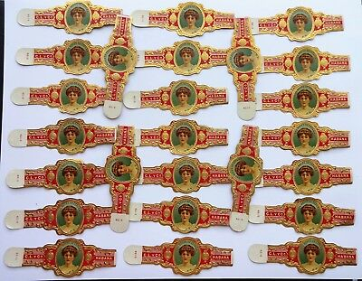 WHOLESALE: 1920s - 1950s Old Cigar Band X 25, Lot 157