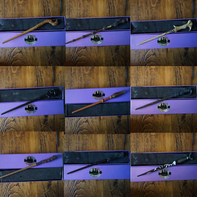 Harry Potter Series Magic Wand with Metal Core 30 Different Designs Film Replica