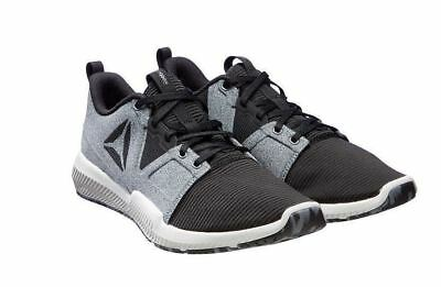 c189eca5d66328 Reebok Men s Hydrorush TR Athletic Running Shoes GREY  BLACK -  SIZE CONDITION