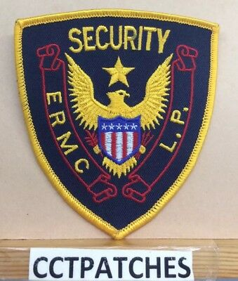 Ermc L.p., Tennessee Security (Police) Shoulder Patch Tn
