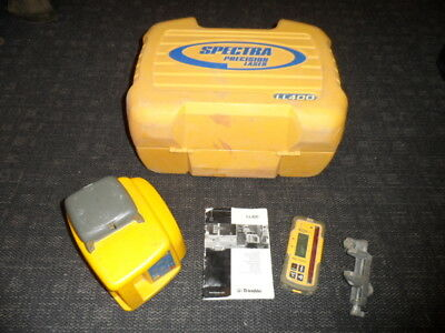 Trimble Spectra Precision LL400 Rotary Laser with HL700 Receiver