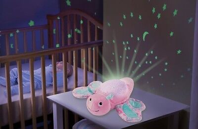 Summer Infant Swaddle Me Slumber Buddies Butterfly Musical Night Light & Soother