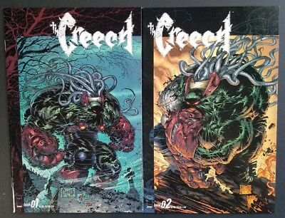 the Creech #1 #2 (2 comic lot) Greg Capullo - Image Comics - 1997 VF/NM