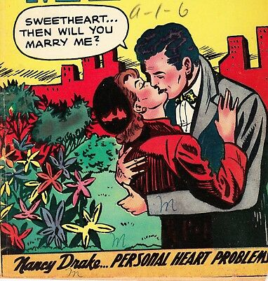 My Secret Marriage #12 Superior Publishers Comics Book Canada Romance (1955)