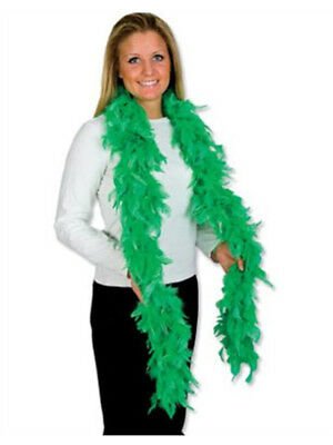 """Deluxe Large Green 72"""" Costume Accessory Feather Boa"""