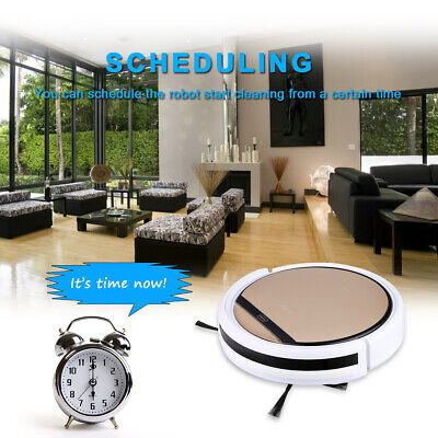 ILIFE V5S Pro Smart Robotic Vacuum Cleaner Cordless IR Remote Control OBS 850Pa