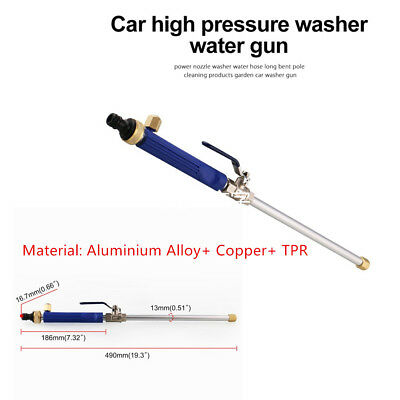 High Pressure Power Washer Spray Nozzle Water Wand  Aluminium+Alloy Copper+TPR