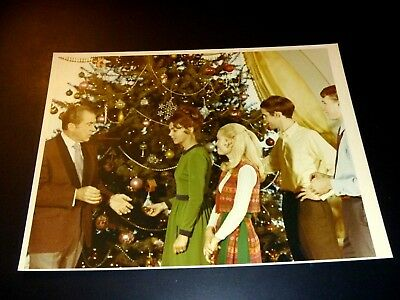 Pres Richard Nixon, Pat & Family Christmas Official White House Photo 1972 3