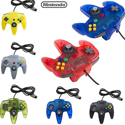 1x 2x Long Wired Controller Joystick For Nintendo 64 N64 Game System Mario Kart~