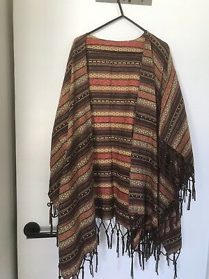 Large Beaded Poncho