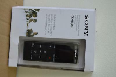 Sony ICD-UX560 Stereo Digital Voice Recorder w/Built-in USB