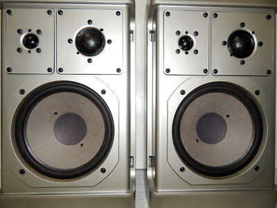 Grundig Box M600 vintage bookshelf speakers from the mother complany of a/d/s an