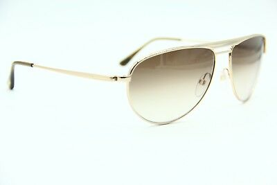 a2c8851d83 New Tom Ford Tf207 28F William Gold Authentic Frame Sunglasses 59-15 W Case