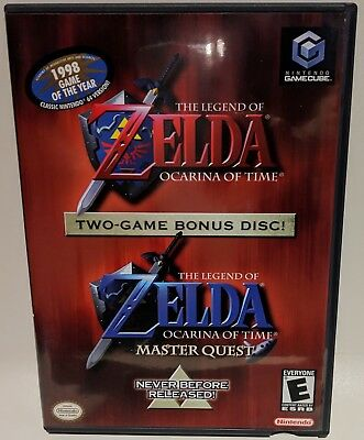 The Legend of Zelda: Ocarina of Time + Master Quest, Gamecube - rare!