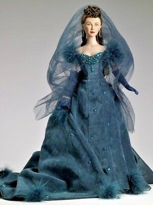 "Gone With The Wind ""shame "" Tonner Doll Scarlett O'hara Vivien Leigh   Le 175"