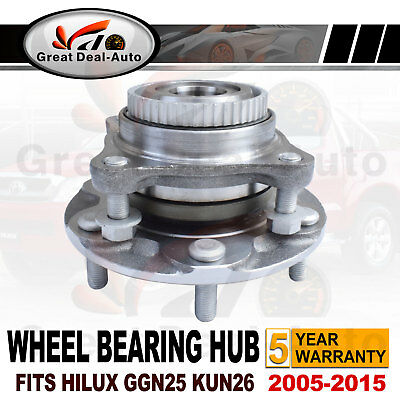 Front Wheel Bearing Hub Assembly for Toyota Hilux GGN25R 1GRFE KUN26R 1KDFTV 4WD