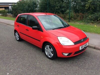 2002 52 Ford Fiesta 1.4 Zetec With Aircon, 5 Door With 2 keys--- Cheap car