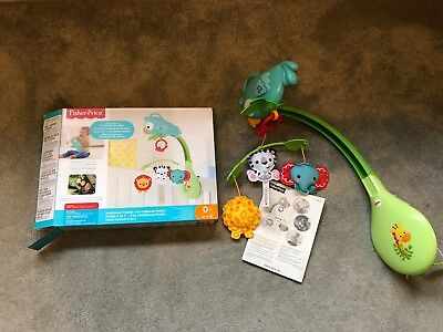 Fisher-Price 3-in-1  Rainforest Friends Musical Mobile Activity Toy