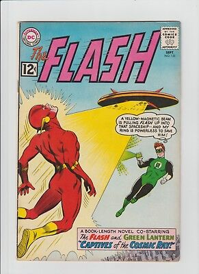 The Flash #131 (Sep 1962, DC) FN- (5.5) Guest-Starring The Green Lantern !!!!!!!