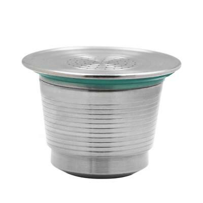 Stainless Steel Coffee Capsule Reusable Refillable Strainer Filter for Nespresso