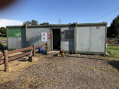 Portable Cabin 44ft x 12ft  Office Site Office