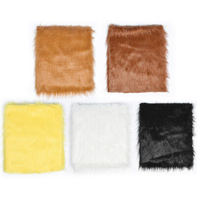 1/2 Meter Plush Faux Fur Fabric 12cm Long Haired Pile DIY Toy Making Material