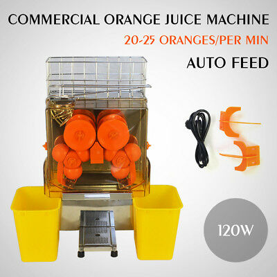 Top Pro Juice Commercial Auto Feed Orange Juicer Citrus Juice Machine Squeezer