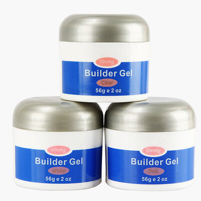 56g UV Builder Gel Soak Off Extension Polygel Quick Dry Nail Art Glue Wide